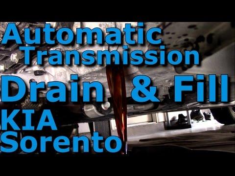 Automatic Transmission Fluid ATF Drain & Fill Complete HD KIA Sorento 2016-2017