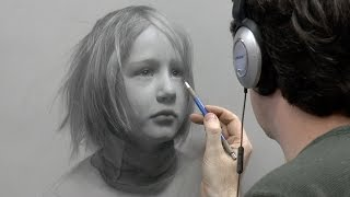 """Static"" – Portrait Drawing of a Child, Part 5 of 5"