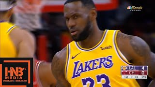Los Angeles Lakers vs Chicago Bulls - 1st Qtr Highlights   November 5, 2019-20 NBA Season
