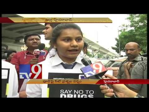 Say No to Drugs - Anti drugs campaign by TS Govt - TV9