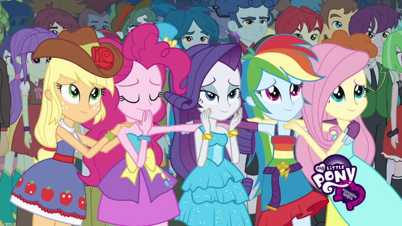 My Little Pony Equestria Girls  Meet the Girls Spike  YouTube