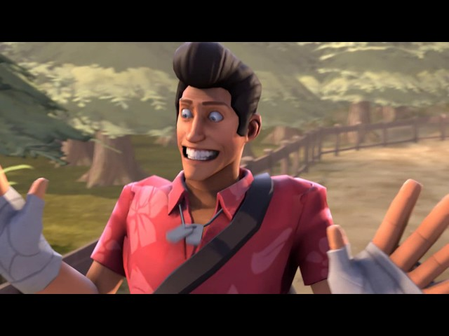 [SFM] - Scout gets Attacked by a Wild Yet Curious Being