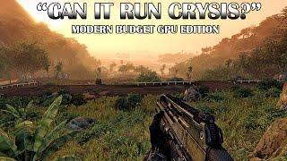 modern budget graphics cards vs crysis