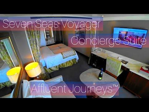 Regent Seven Seas Voyager Concierge Suite