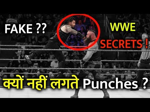 FAKE OR REAL Why WWE Wrestlers are not...