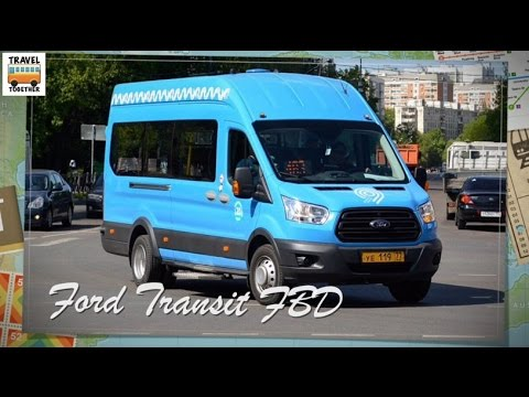 """Транспорт в России"". Автобус ""Ford Transit FBD"" 