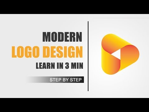The Logo Design Process | Step by Step | Illustrator Tutorial | Modern Logo Design thumbnail