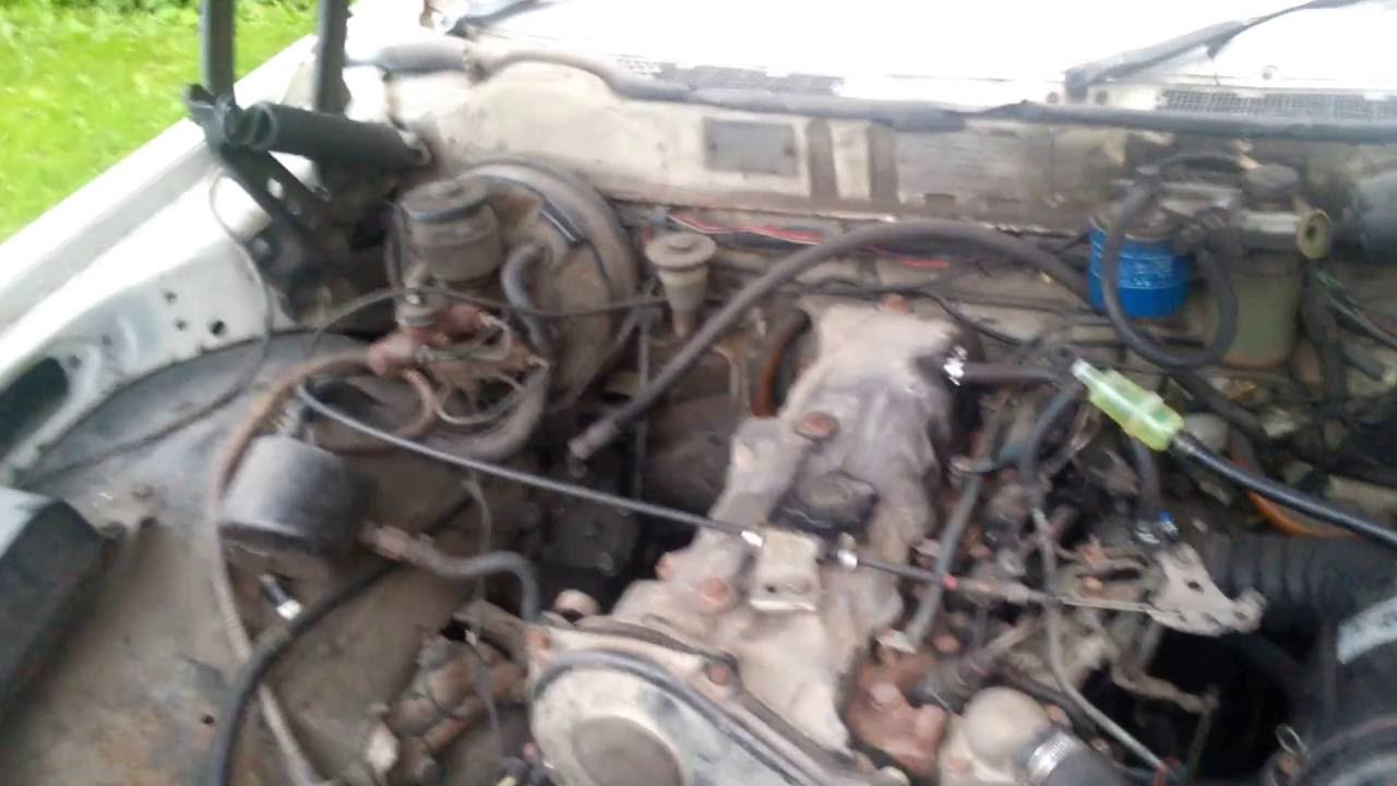 Toyota Crown 1983 Sel Engine Startup