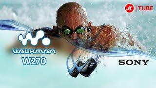 видео Плеер для плавания в бассейне MP3 Player Waterproof Music