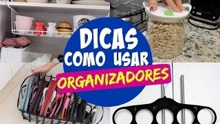 11 TOP ORGANIZADORES + DICAS DE ORGANIZAÇÃO