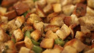 Vegan Stuffing Recipe - Vegan Vegetarian Meatless Monday Thanksgiving Dinner