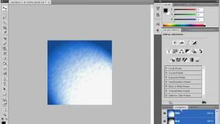 Надпись с эффектом льда в Adobe Photoshop CS4 (10/20)
