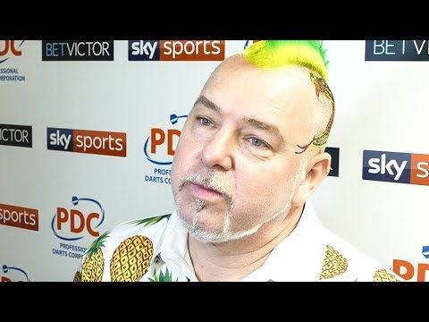 Peter wright - 2017 World Matchplay Runner Up | Post Game Press Conference