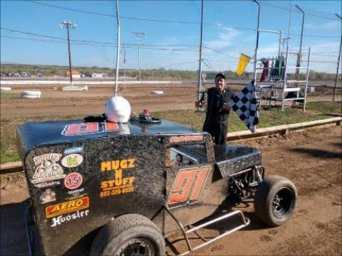 Dwarf Car Main Canyon Speedway Park 1-26-2020