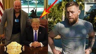 Дональд Трамп придет на UFC 244/Джастин Гэйджи отказался от Макгрегора из-за Хабиба