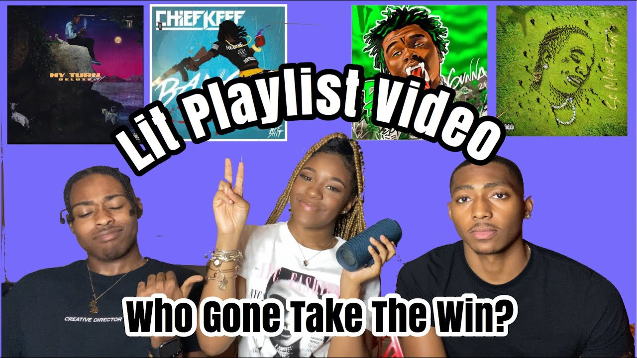 Lit Playlist Video!!! | ITS A COMPETITION | PrinceRashan | Zakia Tookes