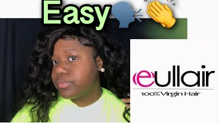 SIMPLE EASY WAY TO APPLY WIG FT EULLAIR