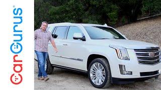 2015 Cadillac Escalade   CarGurus Test Drive Review