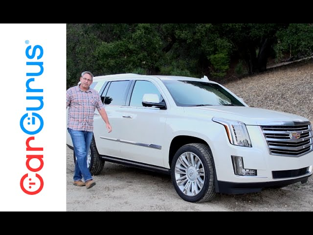 2015 Cadillac Escalade Cargurus Test Drive Review Youtube