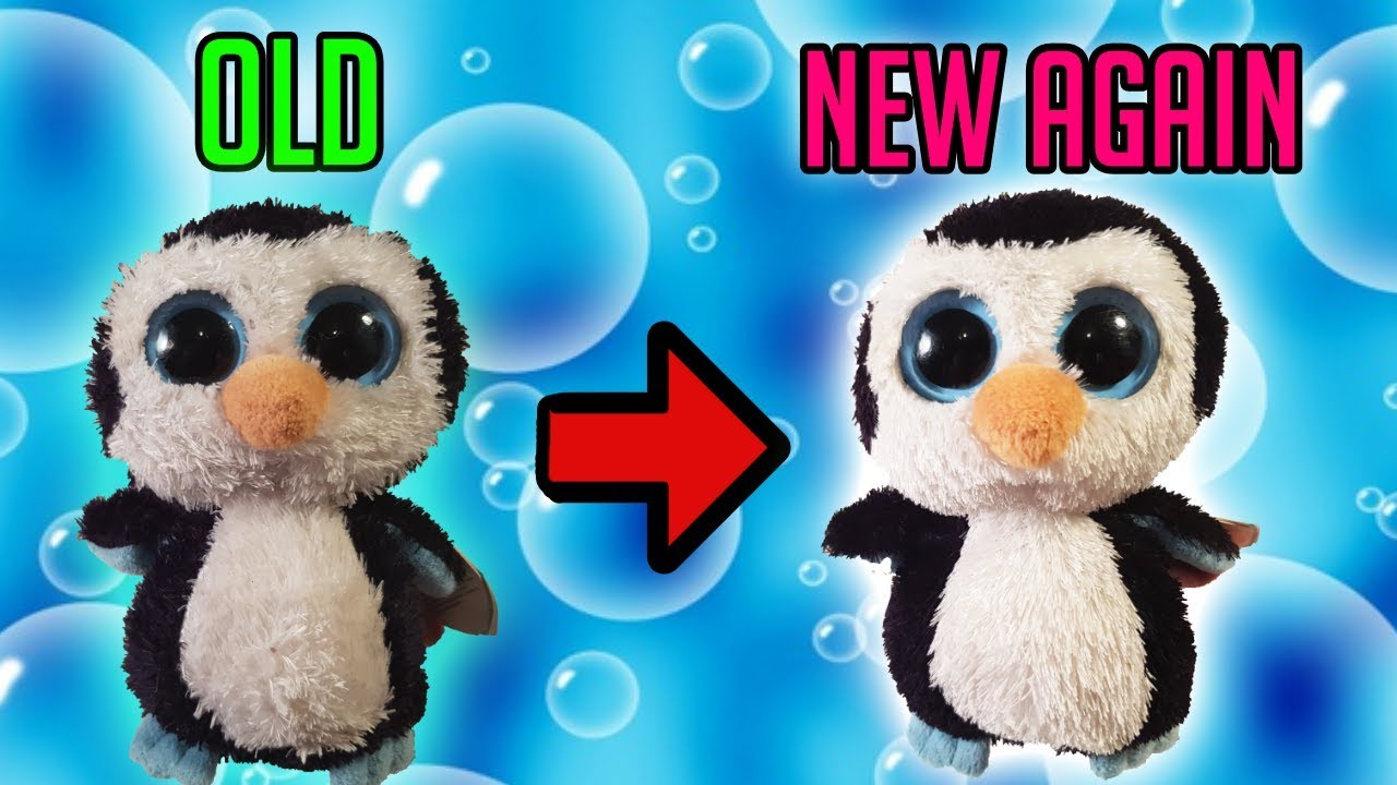 How To Make Your Plush Toys Look New Again Youtube