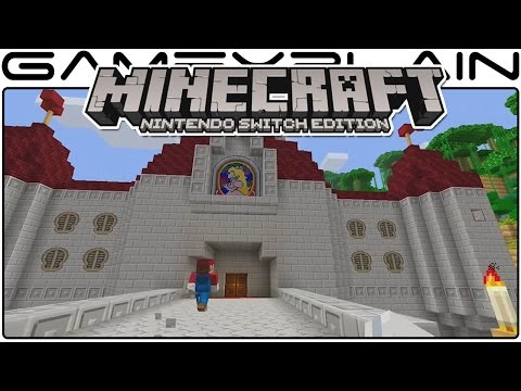 Minecraft: Switch's World is 13 Times Bigger Than Wii U Edition + More Details