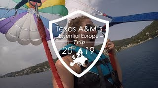 Traveling Aggies - Essential Europe 2019