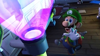 Luigi's Mansion: Dark Moon (3DS) - 100% Walkthrough Part 4 - A-4: Visual Tricks