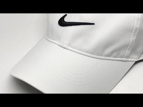 Nike Mens Golf Legacy91 Tech Adjustable Cap White【4K】