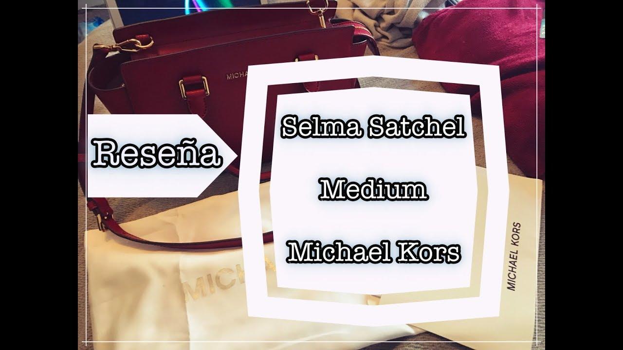761af89a8468 RESEÑA  Bolso Selma satchel Medium - Michael Kors - YouTube