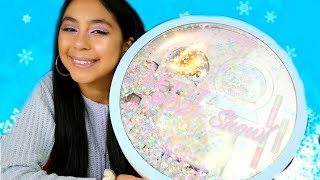 Winter La La Land Unboxing Makeup Tutorial | B2cutecupcakes