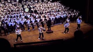 Ohio University Marching 110 - Long Train Runnin - Ohio Theatre 2013