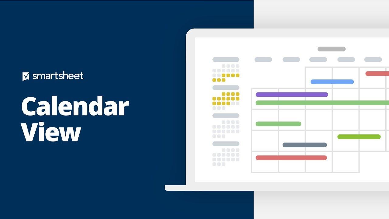Calendar View | Smartsheet Learning Center