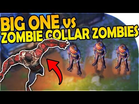 THE BIG ONE vs ZOMBIE COLLAR ZOMBIES - Last Day On Earth Survival 1.6.5 Update
