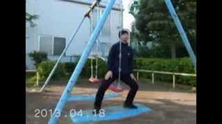 2013年04月01日から04月30日までの眞島竜男の踊り(10倍速)