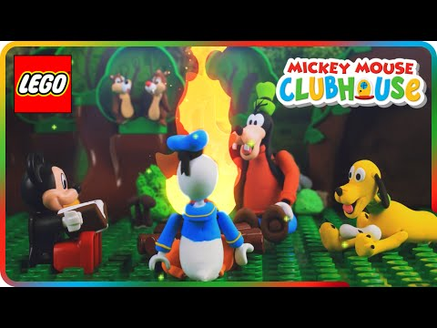 ♥ LEGO Mickey Mouse Clubhouse SCARY CAMPFIRE STORIES (Episode 4)