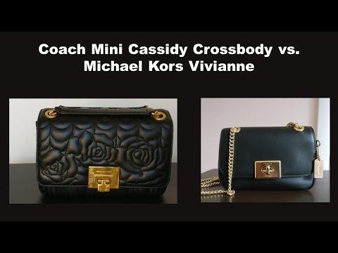 Coach Mini Cassidy Crossbody Vs. Michael Kors Vivianne: Two Chanel Classic Flap Alternatives