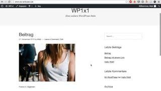 WordPress umziehen - Lokal auf Liveserver