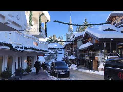 Courchevel 1850 Skiing