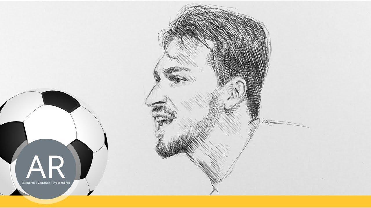 Fussball Quiz Teil 3 11 Schnellportraits Zeichnen Lernen So Zeichnest Du Schnell Ein Portrat
