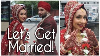 Teaser: Lets Get Married Punjabi Style! || Makeup With Raji