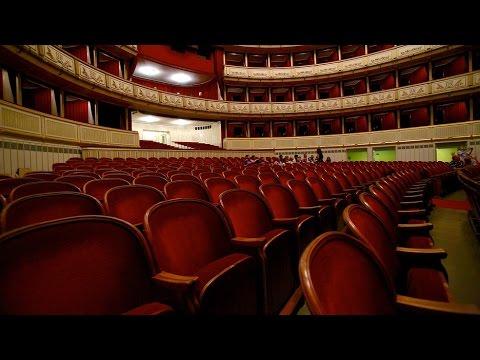 Схемы залов Мариинского театра