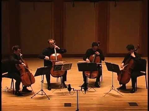 Boston Cello Quartet plays Rossini, Overture to The Barber of Seville