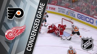 03/20/18 Condensed Game: Flyers @ Red Wings