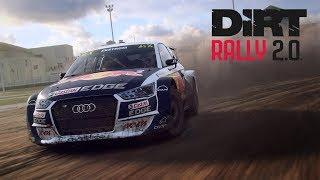 Dirt Rally 2.0 НОВИЧОК ИГРАЕТ на РУЛЕ