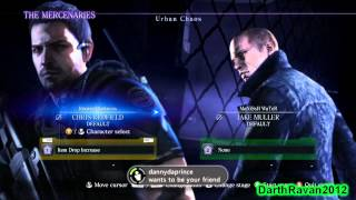 Resident Evil 6: The Mercenaries Mode - Gameplay Footage 01