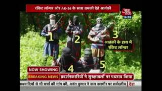 video surfaces with militants carrying rocket launchers in srinagar