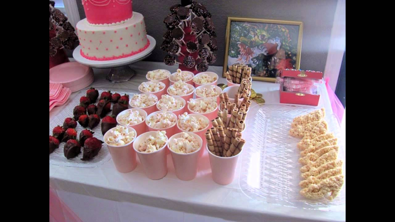 Ideas For Princess Birthday Party Food