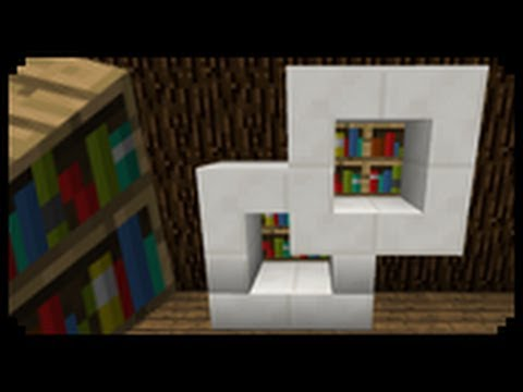 - ✓ Minecraft: How To Make A Modern Bookshelf - YouTube