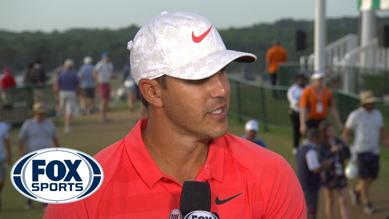 Brooks Koepka talks about his mindset going into Sunday tied for the lead | 2018 U.S. OPEN