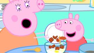 Peppa Pig English Episodes üç Peppa Pig Makes Chocolate Cake Special